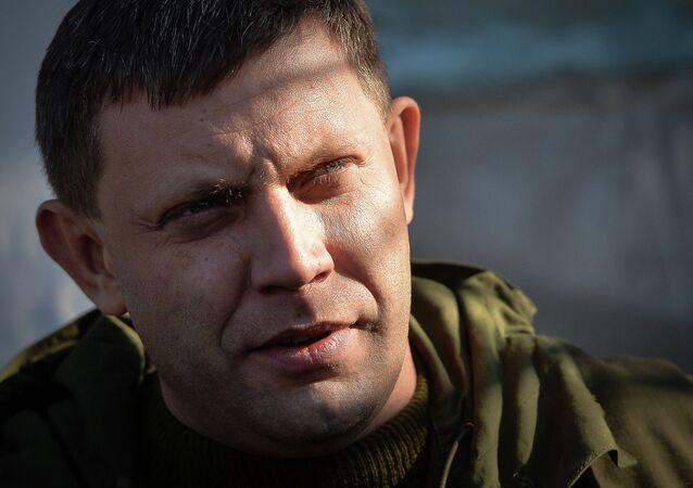 Alexandr Zajárchenko, jefe de la República Popular de Donetsk
