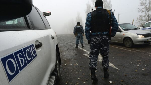 La OSCE insta a Rusia a cerrar la frontera con Ucrania para cesar la violencia - Sputnik Mundo
