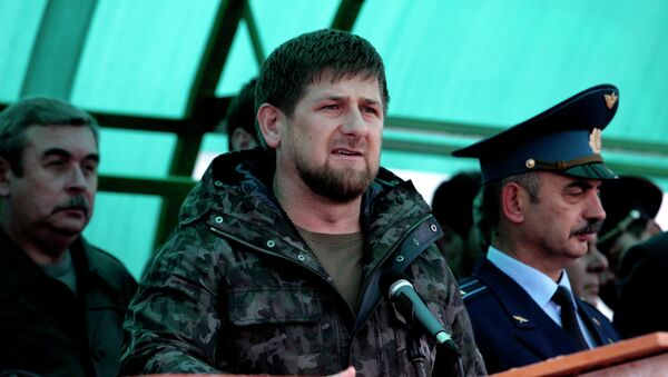 Ramzán Kadírov, presidente de la República de Chechenia - Sputnik Mundo