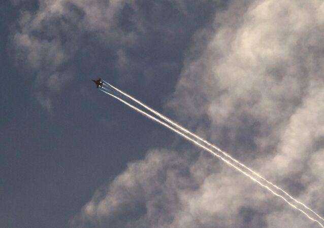 Avion de EEUU en Siria (archivo)