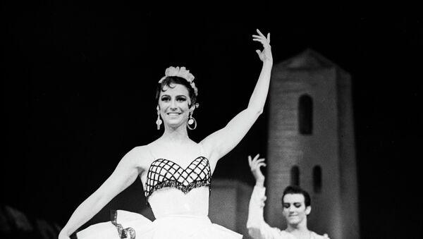 Maya Plisétskaya en el ballet Don Quixote (archivo) - Sputnik Mundo