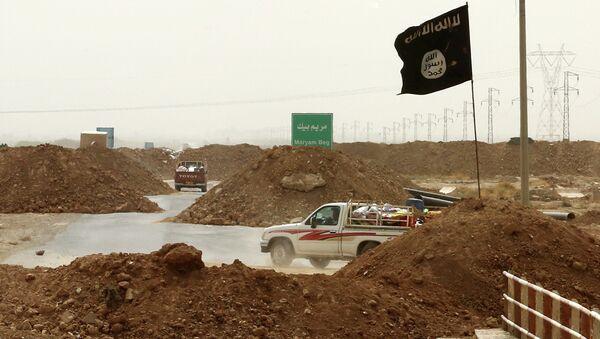 Islamic State militants - Sputnik Mundo