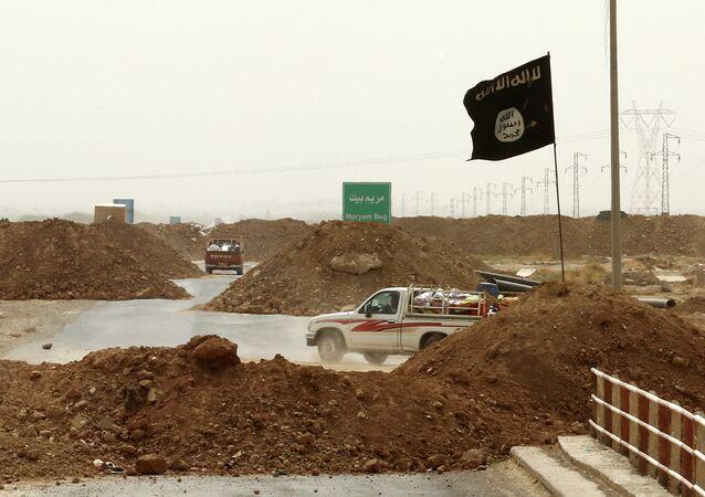 El grupo yihadista Estado Islámico en Kirkuk (archivo)
