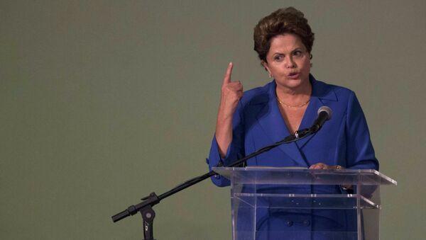Dilma Rousseff, presidenta reelecta de Brasil - Sputnik Mundo