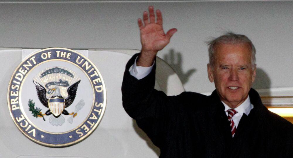 Joe Biden, miembro del Partido Demócrata de EEUU