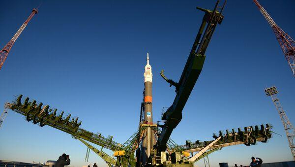 Cohete Soyuz TMA-15M - Sputnik Mundo