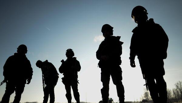 Militares de la Guardia Nacional rusa (archivo) - Sputnik Mundo