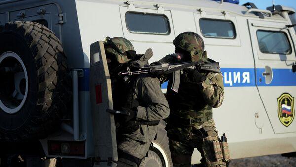 Unidad de reacción rápida de las fuerzas especiales rusas - Sputnik Mundo