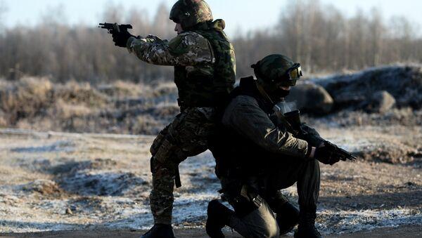 Las fuerzas de seguridad en Daguestán, Rusia (archivo) - Sputnik Mundo