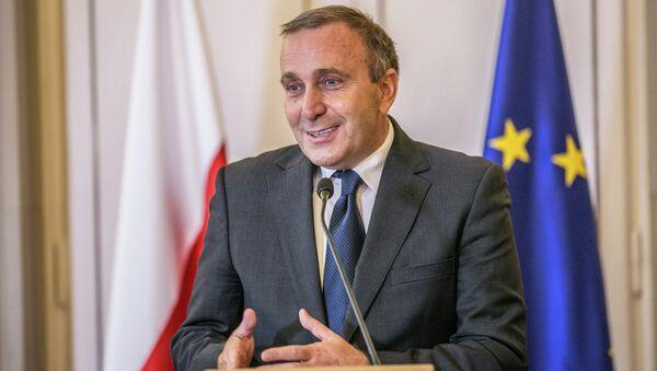 Grzegorz Schetyna, ministro de Asuntos Exteriores de Polonia - Sputnik Mundo