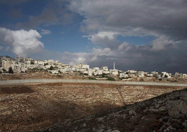 Construcción de viviendas para colonos judíos en Jerusalén (archivo)