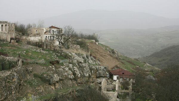 Situación en Nagorno Karabaj (archivo) - Sputnik Mundo