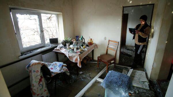Al menos 14 personas resultan heridas a raíz de los bombardeos contra Donetsk - Sputnik Mundo