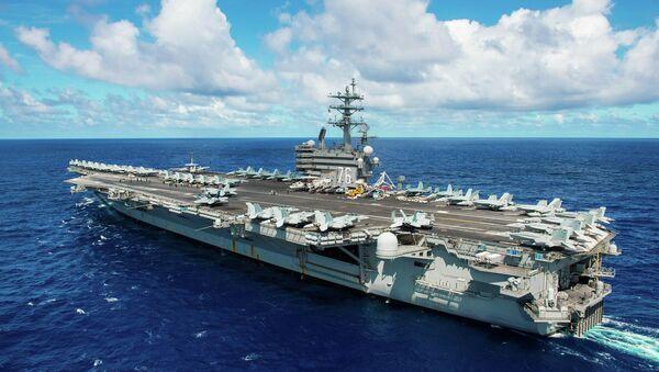 USS Ronald Reagan - Sputnik Mundo