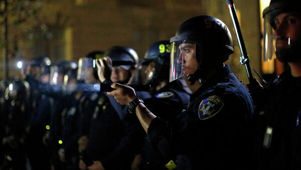 Policía de Ferguson (Archivo) - Sputnik Mundo