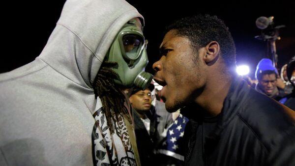 Disturbios raciales en EEUU - Sputnik Mundo