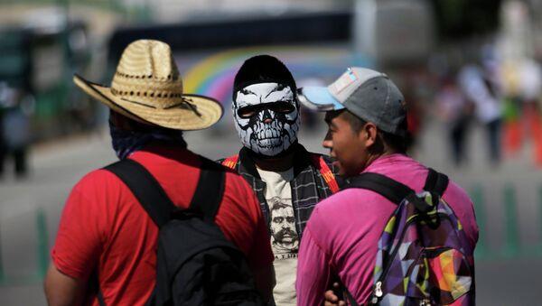 Actos de protesta en México - Sputnik Mundo