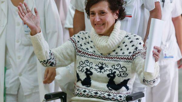 Teresa Romero, enfermera española que sobrevivió al ébola, 5 de diciembre, 2014 - Sputnik Mundo