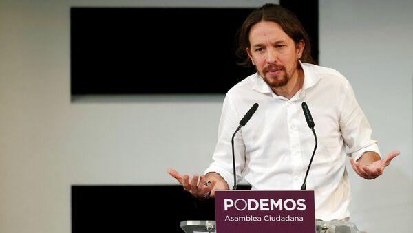 Pablo Iglesias, líder de la formación progresista Podemos, España - Sputnik Mundo