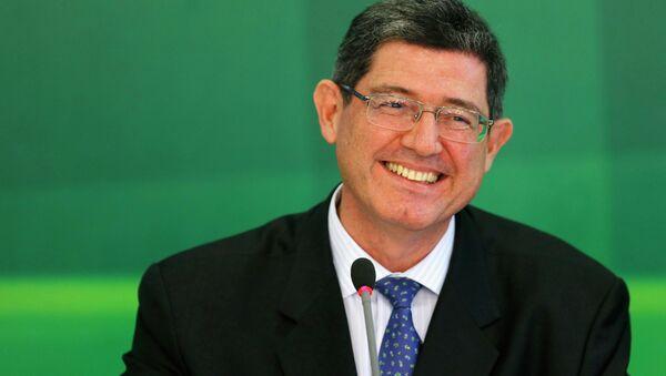 Joaquim Levy, ministro de Hacienda de Brasil - Sputnik Mundo