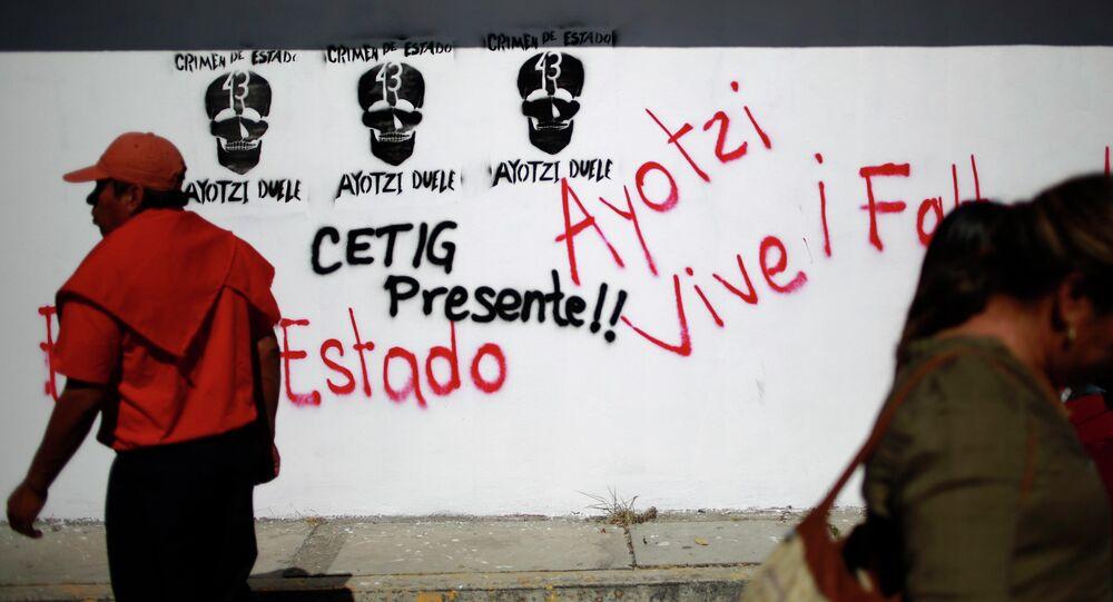 Actos de protesta en México
