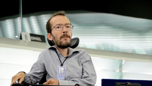 Pablo Echenique, eurodiputado - Sputnik Mundo
