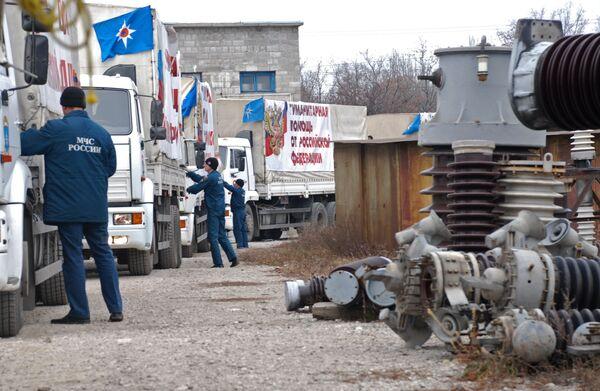 Rusia comenzará a preparar pronto el noveno convoy humanitario para Donbás - Sputnik Mundo