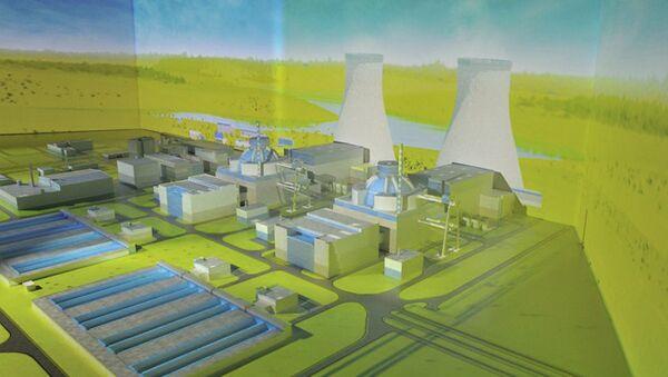 Maqueta de la central nuclear Akkuyu en Turquía - Sputnik Mundo