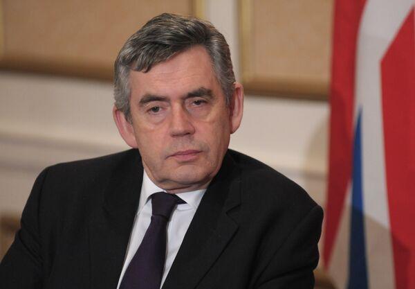 Gordon Brown, anterior primer ministro de Reino Unido - Sputnik Mundo