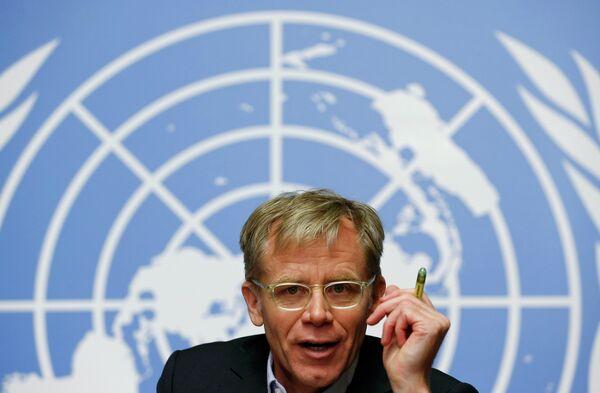 Subdirector General de OMS, Bruce Aylward - Sputnik Mundo