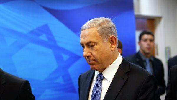 Binyamin Netanyahu, primer ministro - Sputnik Mundo