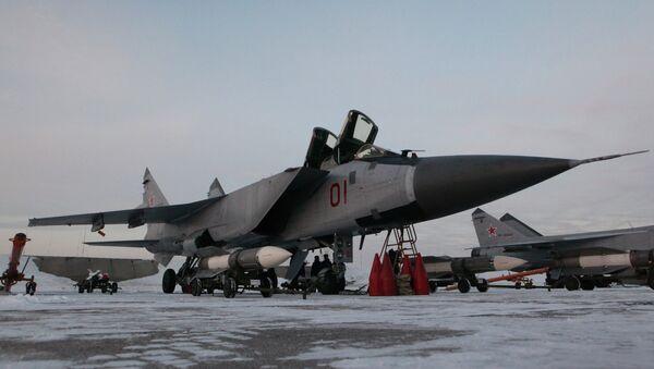 Cazas MiG-31 - Sputnik Mundo