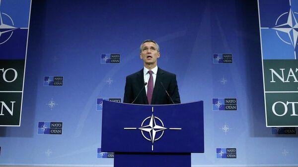 Генсек НАТО Йенс Столтенберг - Sputnik Mundo