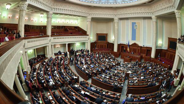 Заседание Верховной рады Украины - Sputnik Mundo