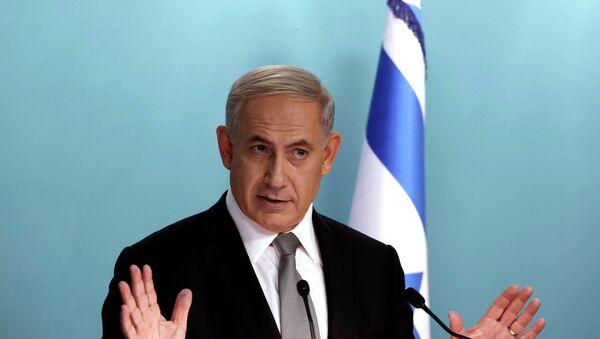 Binyamin Netanyahu, primer ministro de Israel - Sputnik Mundo