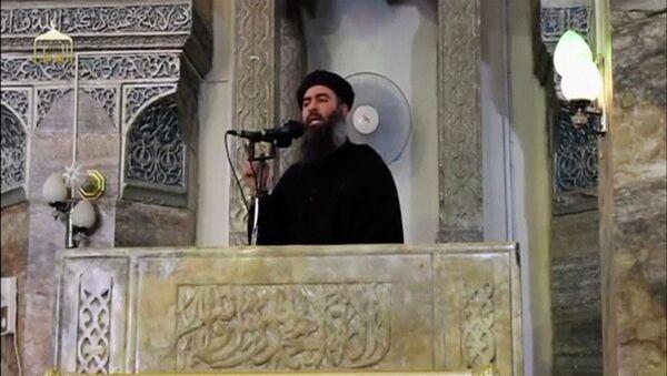 Abu Bakr Bagdadi, líder del grupo terrorista Daesh - Sputnik Mundo