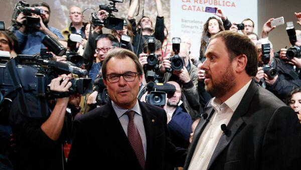 Oriol Junqueras, exvicepresidente de la Generalitat de Cataluña - Sputnik Mundo