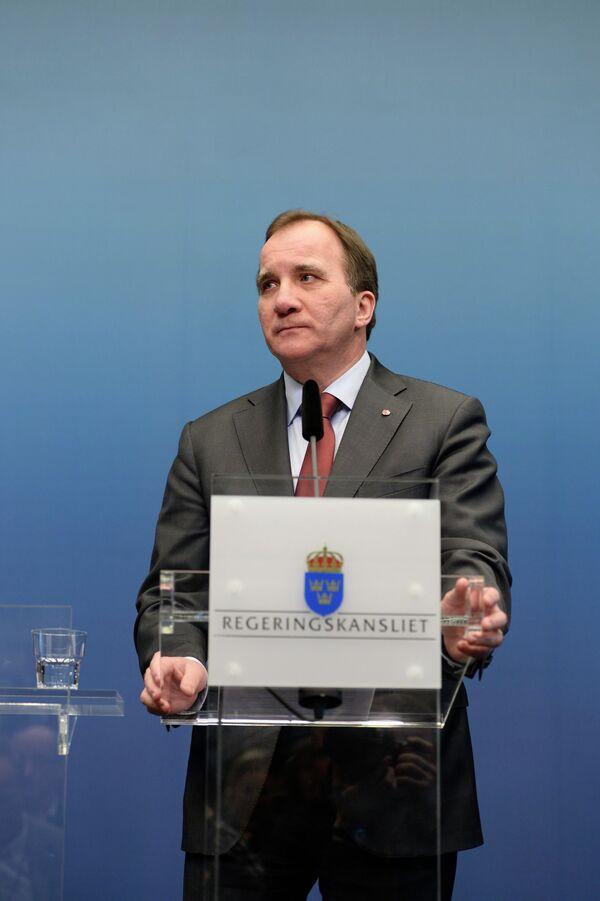 Stefan Löftven,  primer ministro de Suecia - Sputnik Mundo