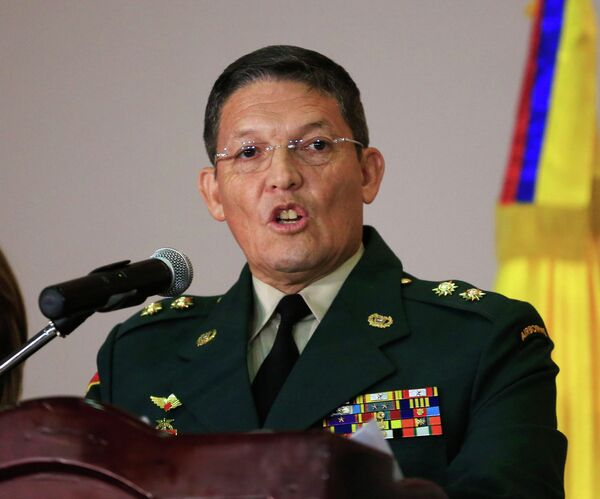 General de ejército liberado Rubén Darío Alzate - Sputnik Mundo