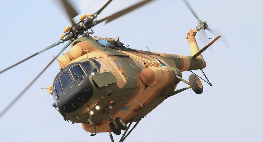 Вертолет Ми-17В-5 в Афганистане