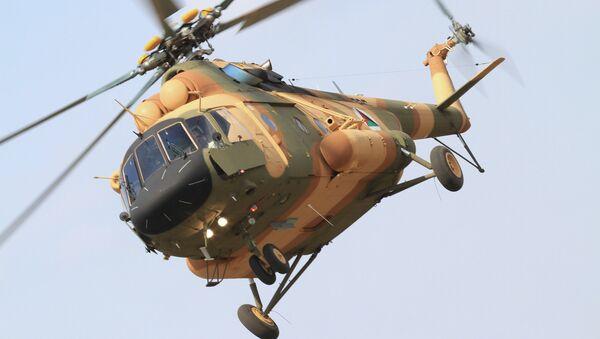 Вертолет Ми-17В-5 в Афганистане - Sputnik Mundo