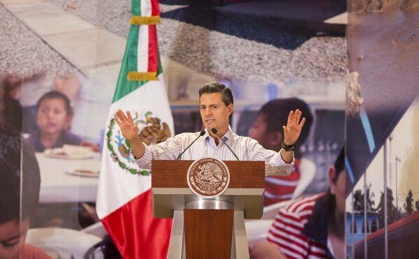Presidente de México, Enrique Peña - Sputnik Mundo
