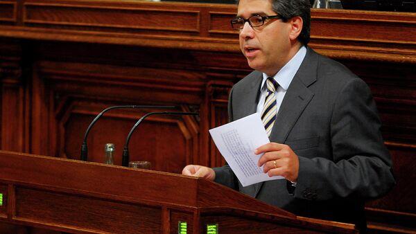 Francesc Homs en el Ple del Parlament - Sputnik Mundo
