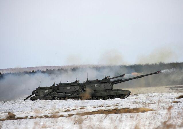 Unidad de artillería autopropulsada Msta-S
