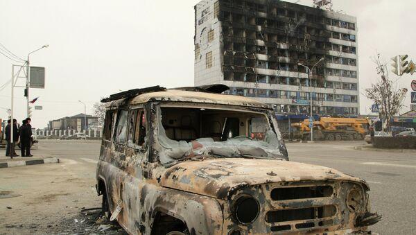 Casa de la Prensa en Grozni - Sputnik Mundo