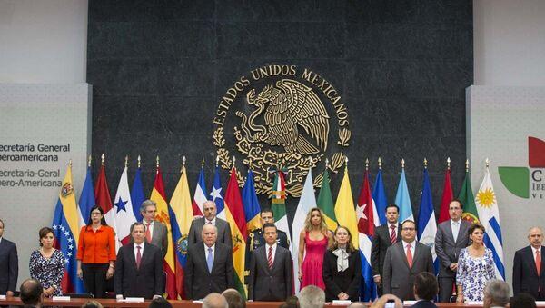 Cumbre Iberoamericana llega a México en plena crisis por la desaparición de 43 estudiantes - Sputnik Mundo