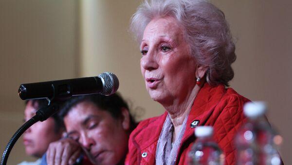 Estela de Carlotto, presidenta de las Abuelas de Plaza de Mayo - Sputnik Mundo