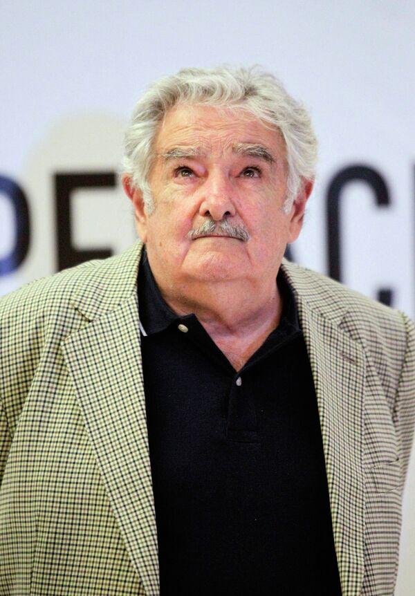 José Mujica, presidente de Uruguay - Sputnik Mundo