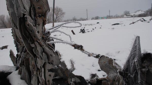 Lugar del siniestro del Boeing malasio en Donbás - Sputnik Mundo