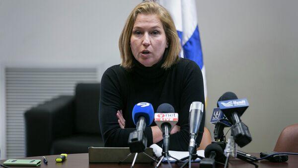 Tzipi Livni (archivo) - Sputnik Mundo